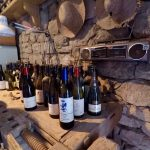 Bottles with tasting notes - Haritatos vineyard