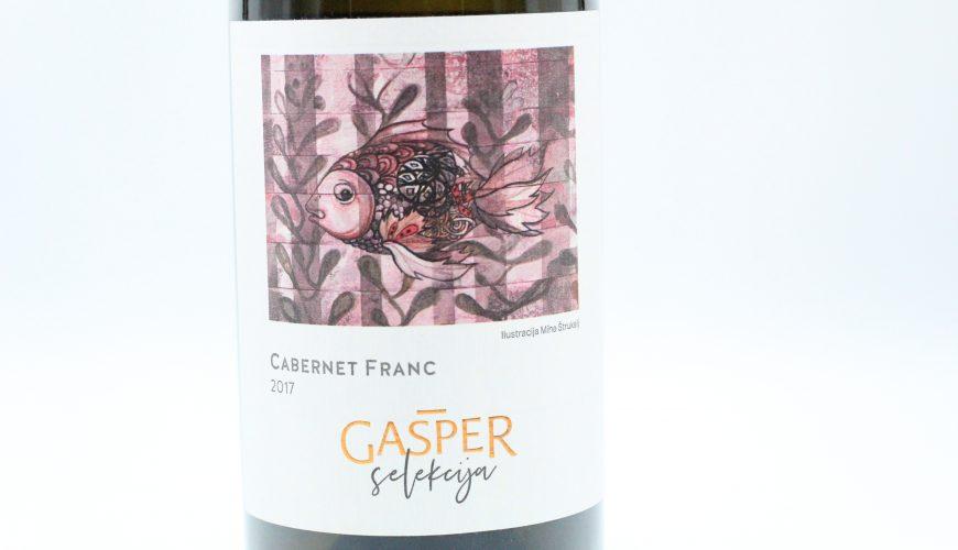 Gašper wines, Cabernet Franc Selekcija 2017